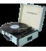 Madison RETROCASE - Tocadiscos, bluetooth, puerto USB, color Azul