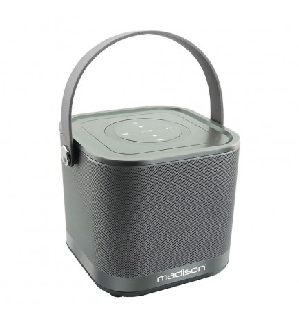 Madison LINK20 - Altavoz bluetooth, potencia 20w, puerto USB, WiFi, color Gris