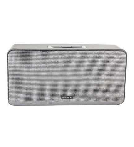 Madison LINK100 - Altavoz bluetooth, potencia 100w, puerto USB, WiFi, color Gris