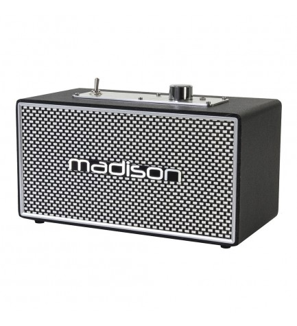 Madison FREESOUND VINTAGE15 - Altavoz bluetooth,