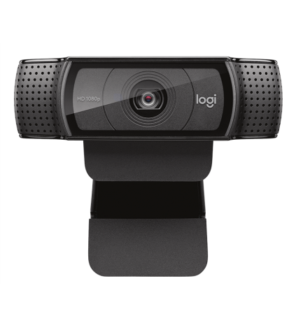 Logitech C920 - Webcam, resolución 15 Mpx, calidad Full HD