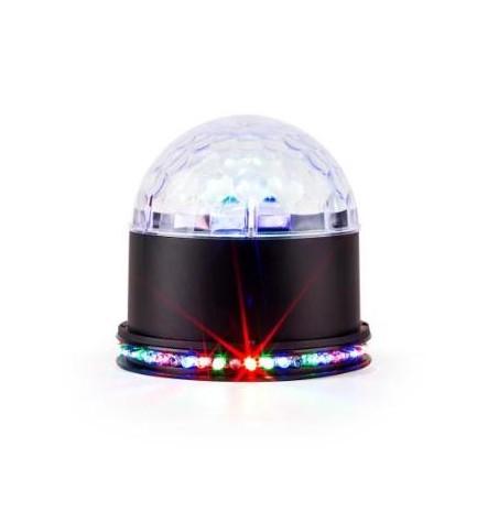 Ibiza UFO-ASTRO - Efecto de luz, color Negro