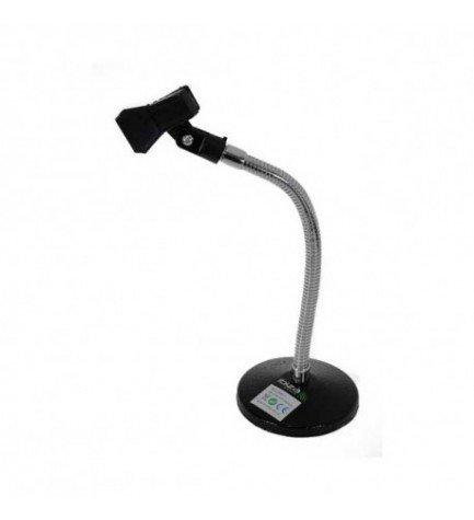 Ibiza SMH1 - Soporte, pinza para micrófono, color Negro