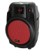 Ibiza POWER6-PORT - Altavoz bluetooth, portátil, puerto USB, entrada SD, color Negro