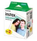 Fujifilm Instax Film - Película instantánea, diseñada para Instax Square SQ10, pack 20 unidades