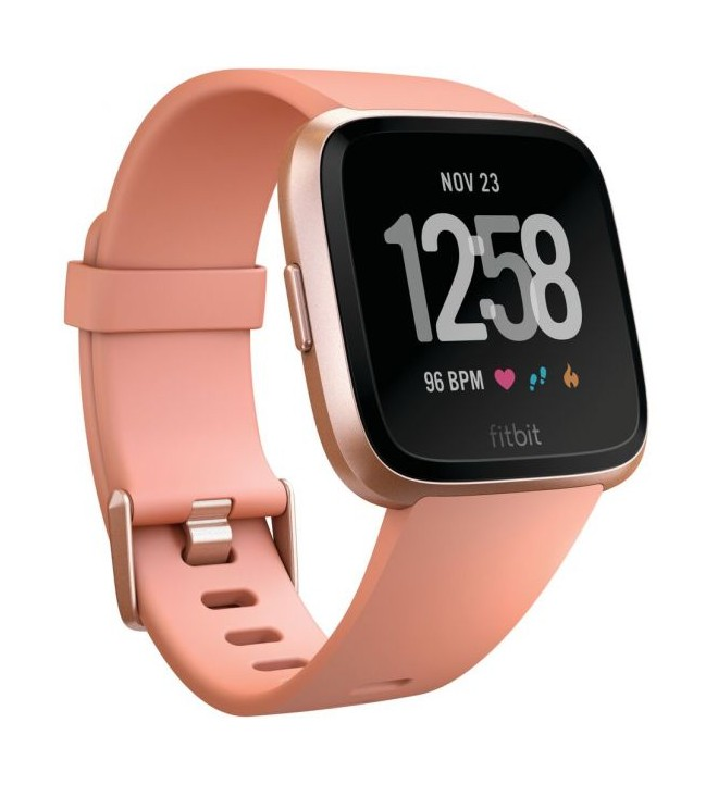 Fitbit Versa FB505 - Smartwatch, color Oro Rosa