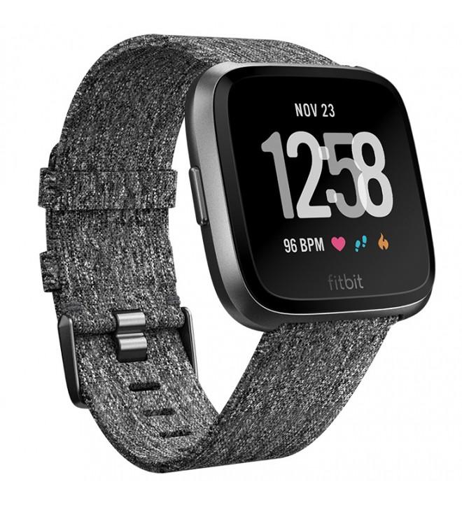 Fitbit Versa FB505 - Smartwatch, edición especial, color Gris