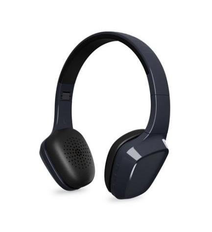 Energy sistem HEAD 1 - Auriculares bluetooth, micrófono incorporado, color Gris