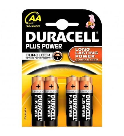 Duracell LR06 PLUS POWER - Pila, pack 4
