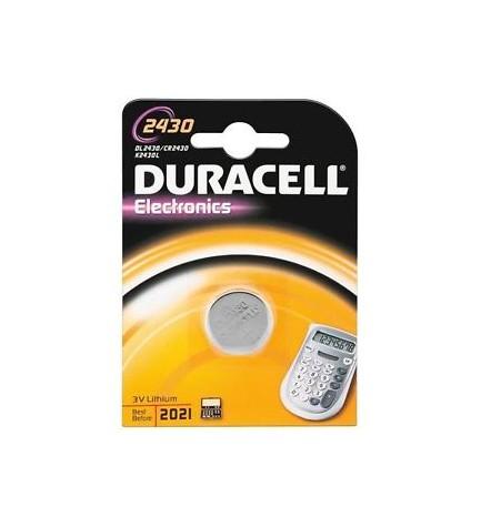 Duracell CR2430 - Pila, pack 1