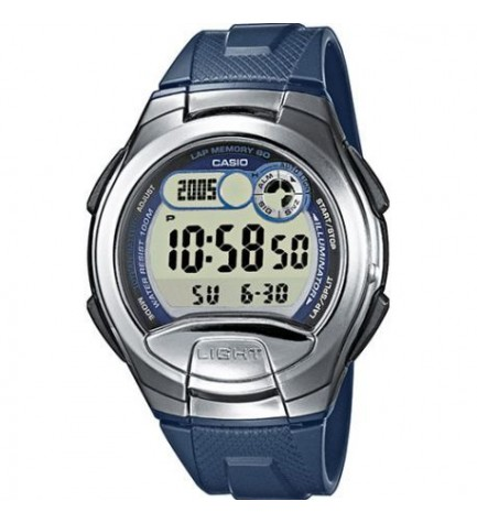 Casio W-752-4A - Reloj, color Rojo Azul