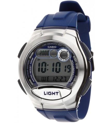 Casio W-752-2A - Reloj, color Plata Azul