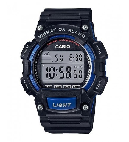 Casio W-736H-2A - Reloj, color Azul