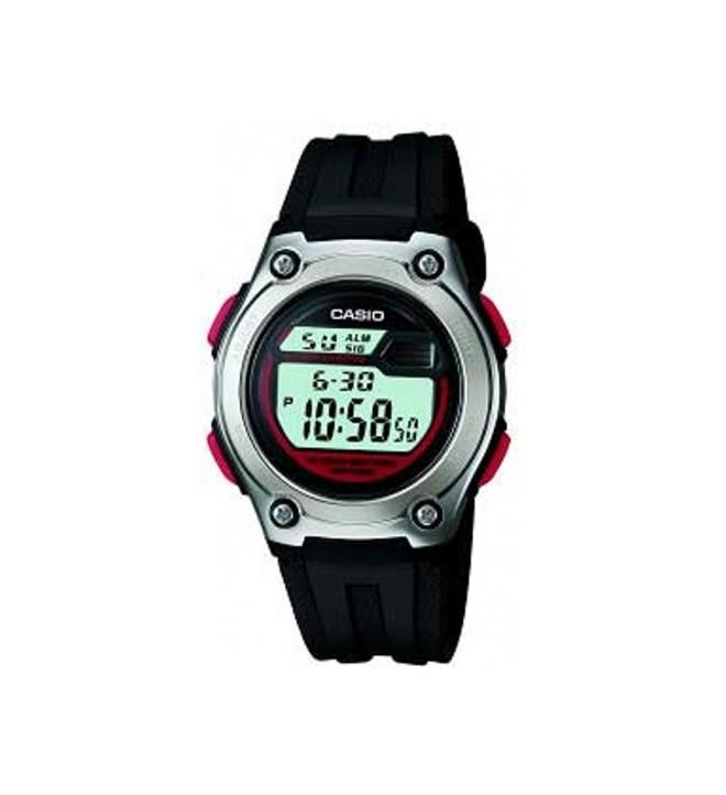 Casio W-211-1B - Reloj, color Negro