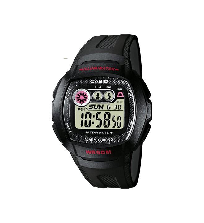 Casio W-210 - Reloj, color Negro