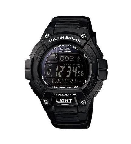 Casio W-S220 - Reloj, correa de goma