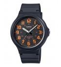 Casio MW240-4B - Reloj, color Naranja