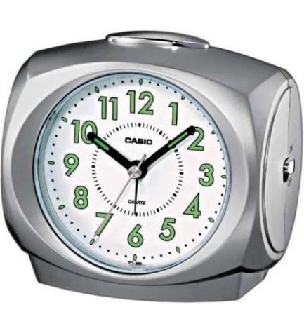 Casio TQ-368 - Despertador, color Plata