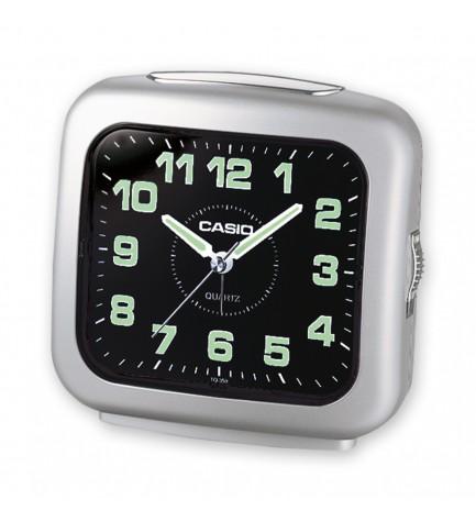 Casio TQ-359 - Despertador, color Plata