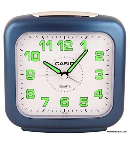 Casio TQ-359-2DF - Despertador, color Azul