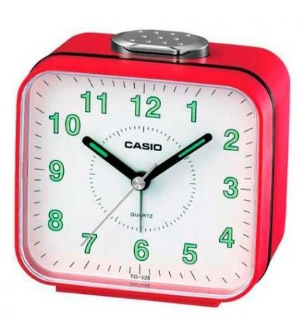 Casio TQ-328 - Despertador, color Rojo