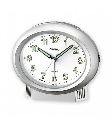 Casio TQ-266 - Despertador, color Plata