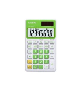 Casio SL-300 - Calculadora, color Verde
