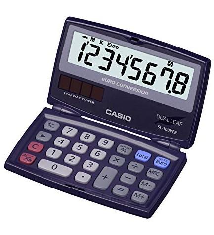 Casio SL-100VER - Calculadora,