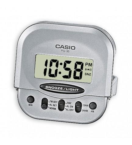 Casio PQ-30 - Despertador, digital, tamaño compacto