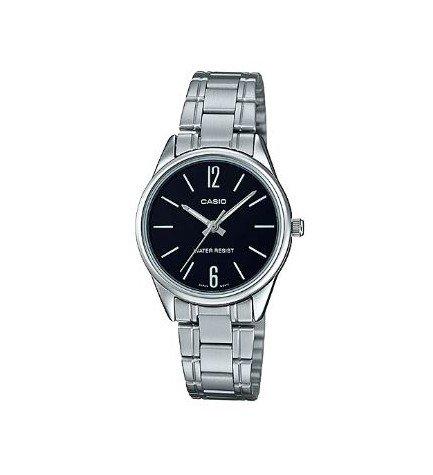 Casio LTP-V005D-1B - Reloj, esfera negra
