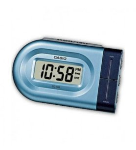 Casio DQ-5432 - Despertador, digital, color Azul