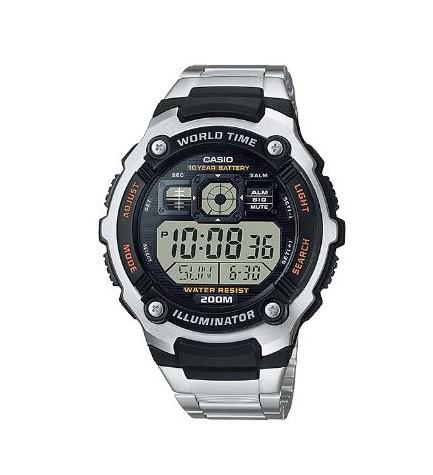 Casio AE-2000WD - Reloj, acero