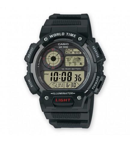Casio AE-1400WH-1A - Reloj, color Negro