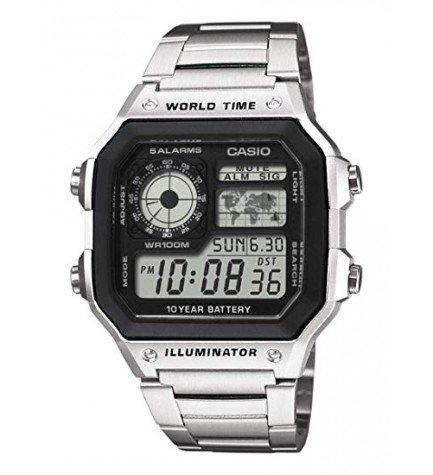 Casio AE-1200WHD - Reloj, metal