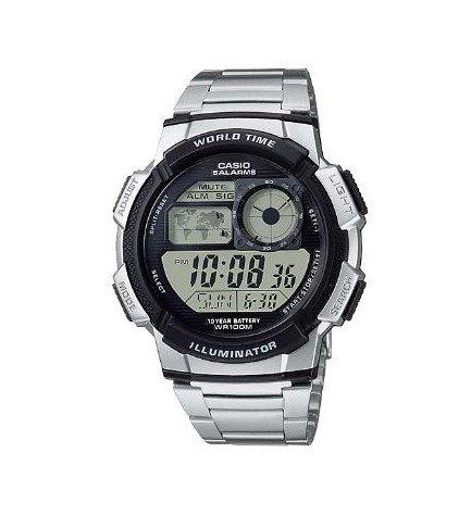 Casio AE-1000WD - Reloj, acero