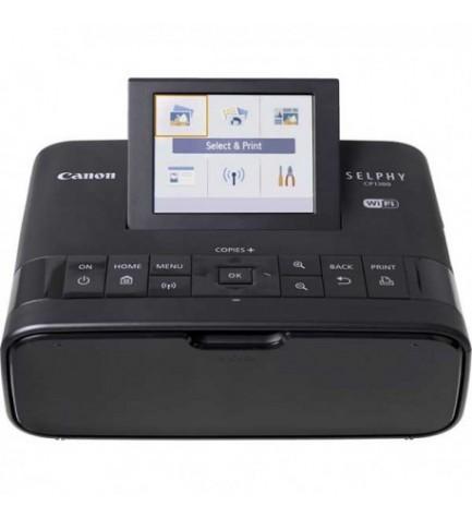 Canon Selphy CP1300 - Impresora fotográfica portátil, WiFi, color Negro