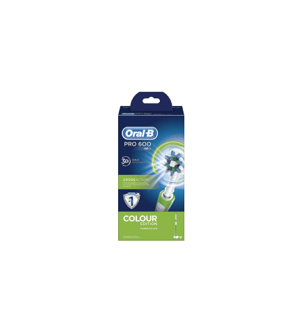 Braun Pro 600 3D - Cepillo dental, color Verde