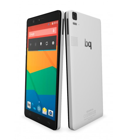 BQ Aquaris E6 - Smartphone, pantalla 6 pulgadas, resolución Full HD, memoria interna 16 GB, color Negro Blanco