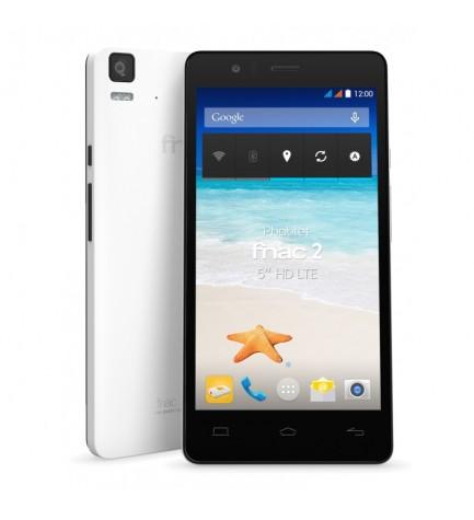 BQ Aquaris E5 - Smartphone, pantalla 5 pulgadas, resolución HD, memoria interna 16 GB, conectividad 4G, color Negro Blanco