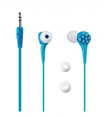 Blaupunkt KIDS 111 BOYS - Auriculares de botón, color Azul