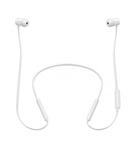 Beats X - Auriculares bluetooth, de botón, color Blanco