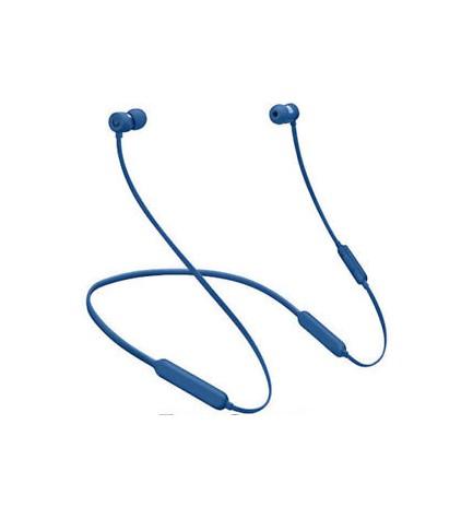 Beats X - Auriculares bluetooth, de botón, color Azul