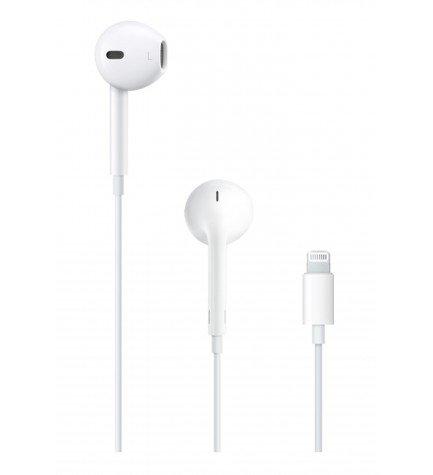 Apple MMTN2ZMA - Auriculares Lightning, Color Blanco