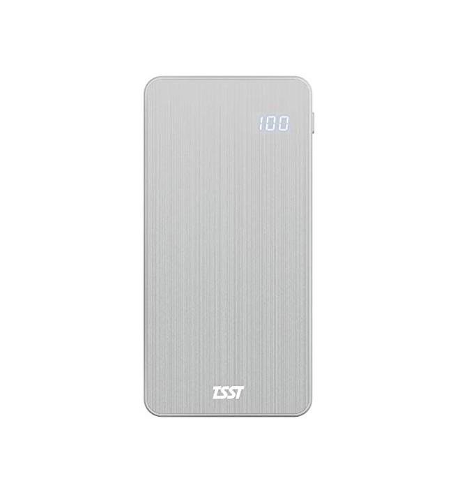 TSST TB050PA - Batería externa, PowerBank, capacidad 5000 mAh, aluminio