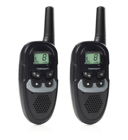 Topcom 1304 RC-6410 - Walkie Talkie, alcance 6 KM