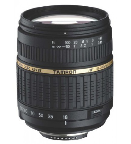 Tamron AF 18-200mm F3.5-6.3 XR-DI - Objetivo, para Nikon