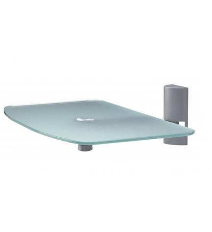 Suarez S302-P - Soporte, diseñado para DVD, material cristal