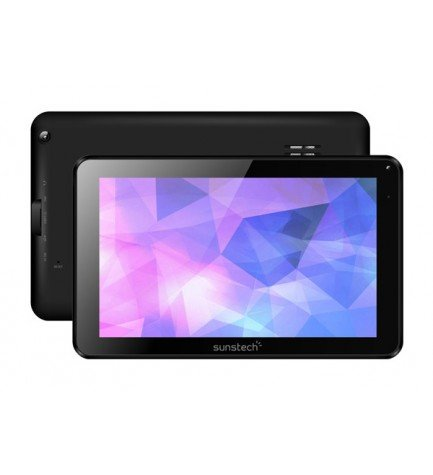 Sunstech TAB918QCBT - Tablet, pantalla 9 pulgadas, memoria interna 16 GB, bluetooth, color Negro