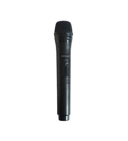 Sunstech MIC - Micrófono, diseñado para MASSIVE S6 S10, color Negro