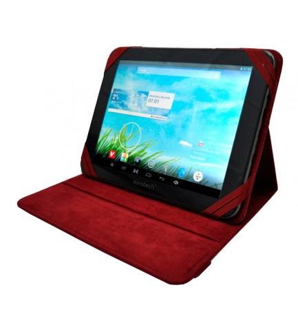 Sunstech BAG81 - Funda, para tablets de 8 pulgadas, color Rojo